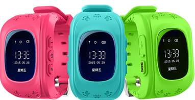 wrist gps tracker color